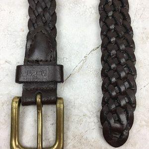 Levi's Accessories - LEVI'S - Vintage - Leather Braided Belt - large